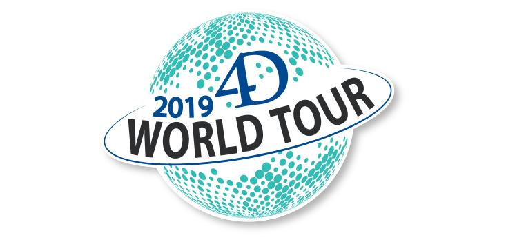 4D World Tour 2019 – Registreringar är öppna